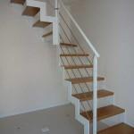 gradini in legno tipo faggio massello
